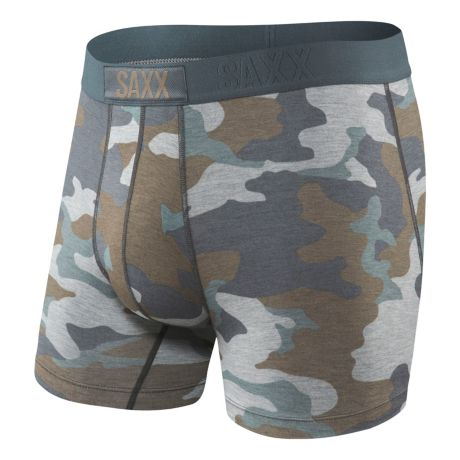 Saxx Vibe Modern Fit Boxers - Grey Supersize Camo