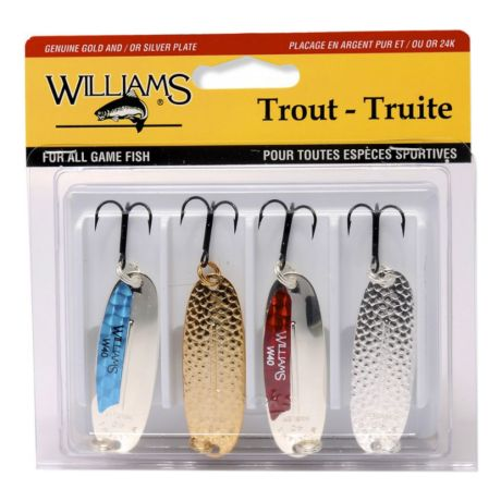 Williams Favourites Trout Kit 4-Pack