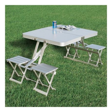 Mouse Over Image For A Closer Look Cabela S Folding Aluminum Picnic Table