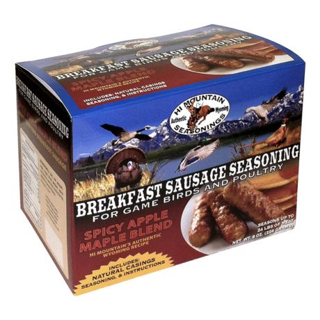 Hi Mountain Complete Breakfast Sausage Kit - Spicy Maple Apple