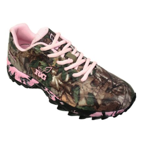 Realtree Womens Camouflage Tennis Shoes