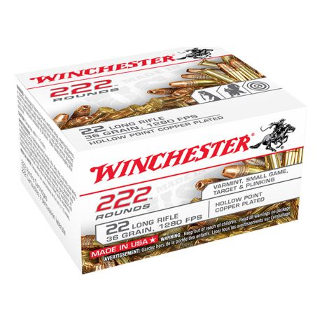 Winchester .22 LR Bulk Packs - 222 Pack