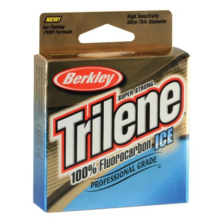 Image result for Berkley Trilene 100% Fluorocarbon Ice Line