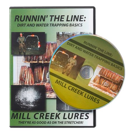 Runnin' The Line Dirt & Water Trapping Basics DVD