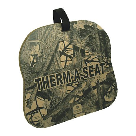 Therm-A-Seat Foam Seat Cushion - Brown Camo
