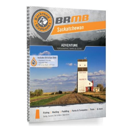 Backroad Mapbooks - Saskatchewan