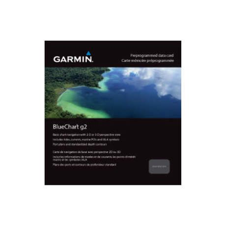 Garmin® Bluechart® g2 Pre-Programmed Data Card - East Canada