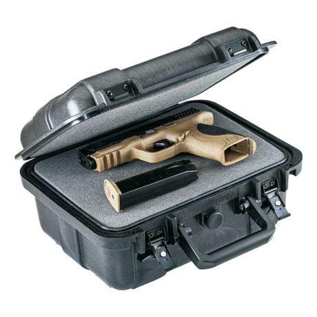 Cabela's Armor Xtreme Moulded Single-Pistol Case - Open