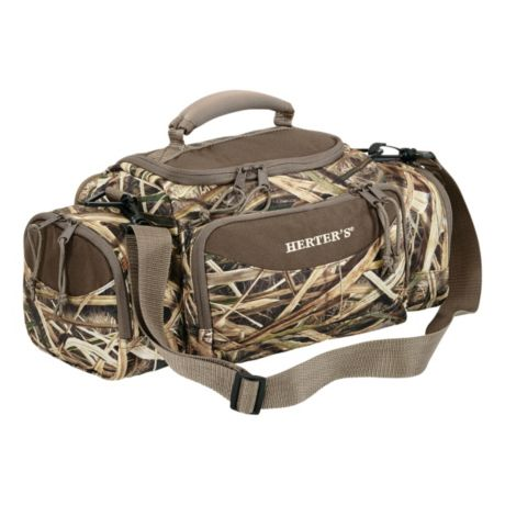 Herter's Waterfowl Field Bag - Mossy Oak Shadow Grass Blades