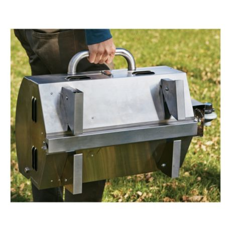 Cabela's Stainless Steel Tabletop Grill -  Folding Legs