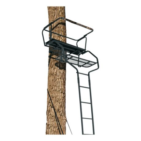 Big Game Treestands The Guardian Xl Two Man Ladder Stand