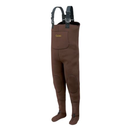 Cabela 39 s 3mm lightweight stockingfoot waders tall for Cabelas fishing waders