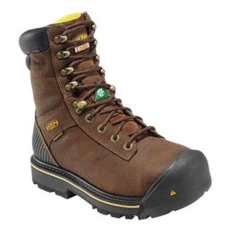 Experience renowned Keen comfort in rugged, waterproof work boots that are loaded with features you need to keep feet happy on the job all day. The latest fatigue-fighting technology teams with proven Keen construction to create boots capable of tackling the toughest jobs/5(15).