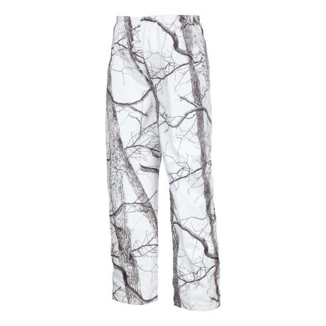 023e4854c7f70 Huntworth Men's Snow Camo Microfiber Cover Up Pants - Oak Tree Snow Camo
