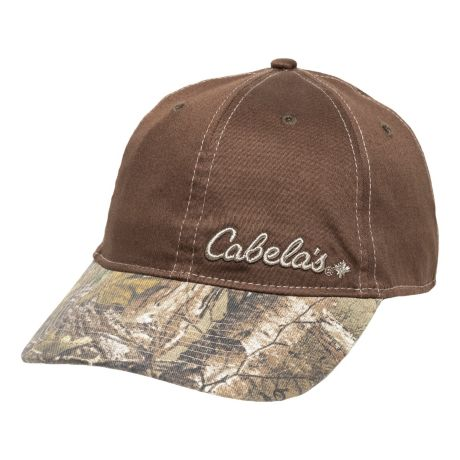 Cabela's Men's Realtree XTRA® Brim Cap - Brown/Realtree XTRA®