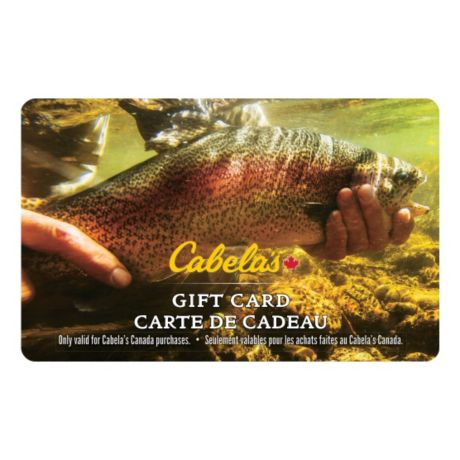 cabela's canada gift card - trout | cabela's canada
