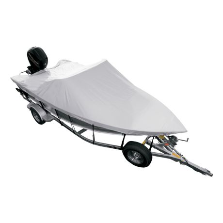 Cabela's RSS V-Hull Fishing-Boat Cover - Top View