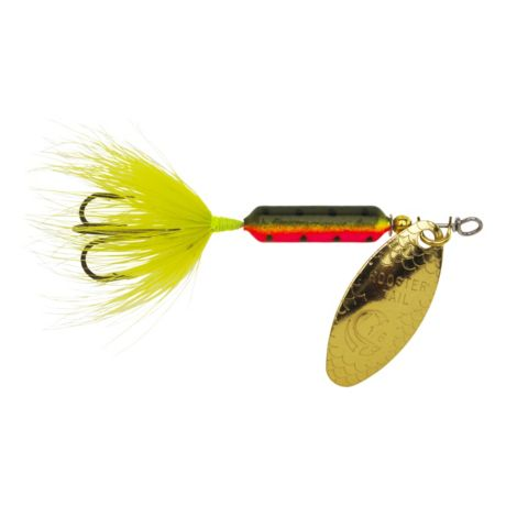 Worden's Lures Rooster Tails - Treble Hook - Firetiger