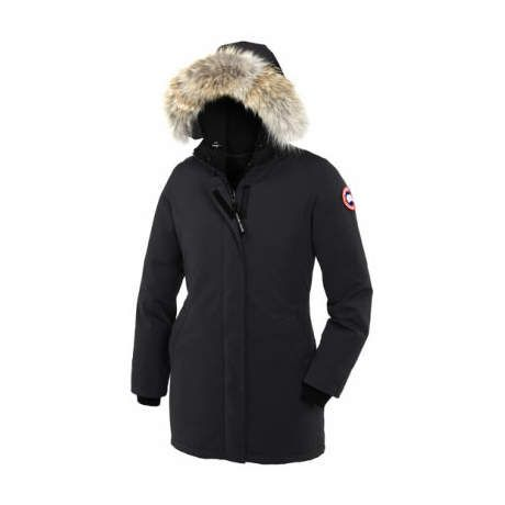 Canada Goose Women s Victoria Parka - Black. Use + and - keys to zoom in  and out 6be3de97c