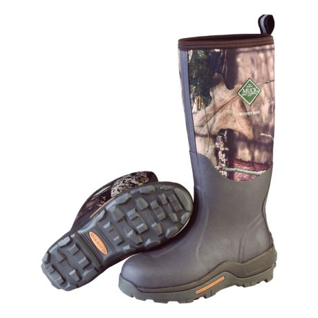 Muck Unisex Woody Max Boot - Mossy Oak Break-Up Country