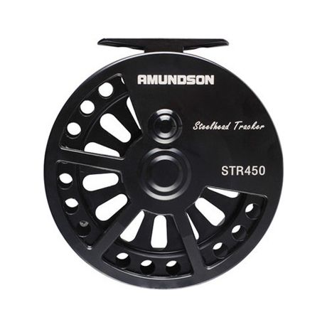 Amundson Steel Head Tracker Centerpin Reel