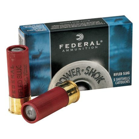 Federal Power Shok Shotgun Slugs - 12 Gauge