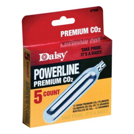 Daisy Powerline CO2 Cylinders - 5-Pack