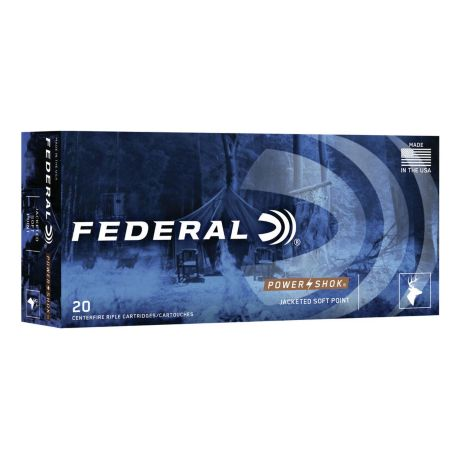 Federal Power Shok Soft Point Ammunition