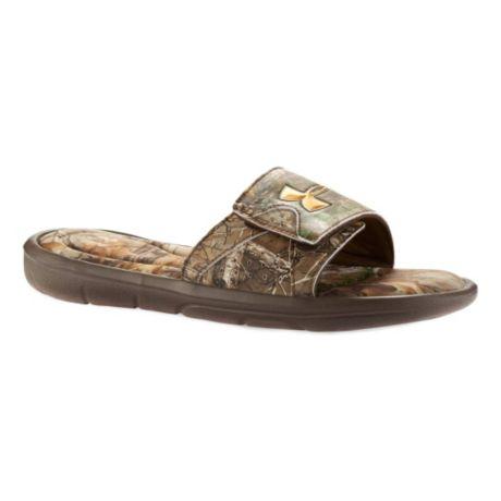 ea9e7479 Under Armour® Ignite IV Camo Slide Sandals | Cabela's Canada