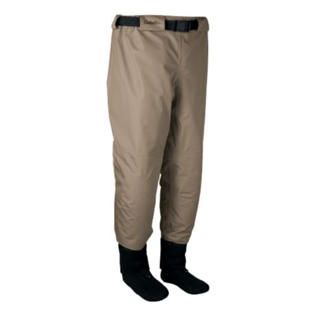 Cabela's Premium Breathable Stockingfoot Waders with 4MOST DRY-PLUS® - Waist High - Light Brown