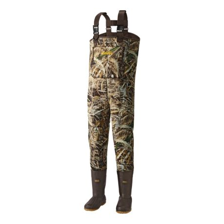 Cabela's 3mm Neostretch Neoprene Chest Waders with Lug Soles – Stout
