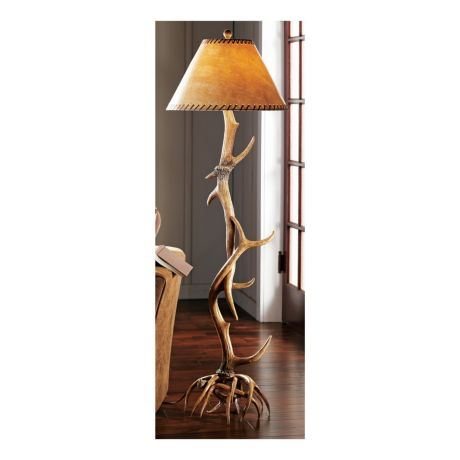 sale lamp awesome antler to click for deer table enlarge floor lamps elk
