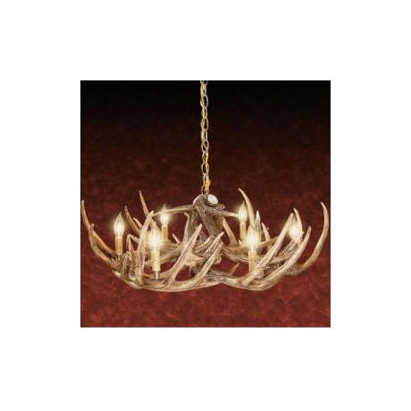 Cabelas whitetail chandelier 9 antler