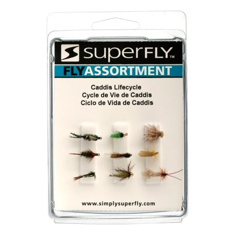 Superfly Caddis Lifecycle Selection