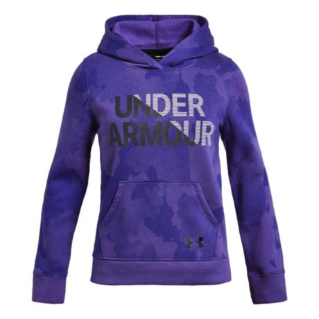 size 40 ccc8b b2801 Under Armour® Girls  Rival Hoodie - Constellation Purple. Use + and - keys  to zoom in and out, arrow keys move the zoomed portion of the image