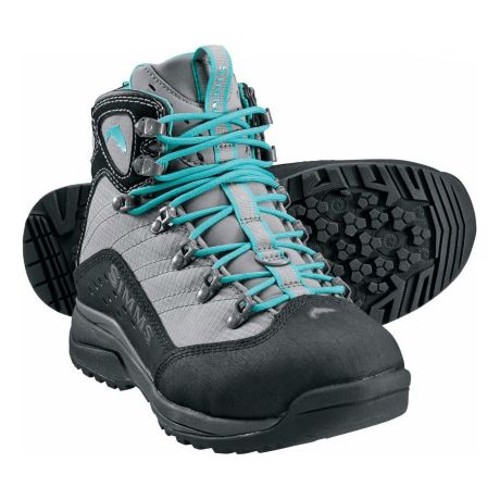 Simms Women's Vapor Wading Boots with Vibram Soles