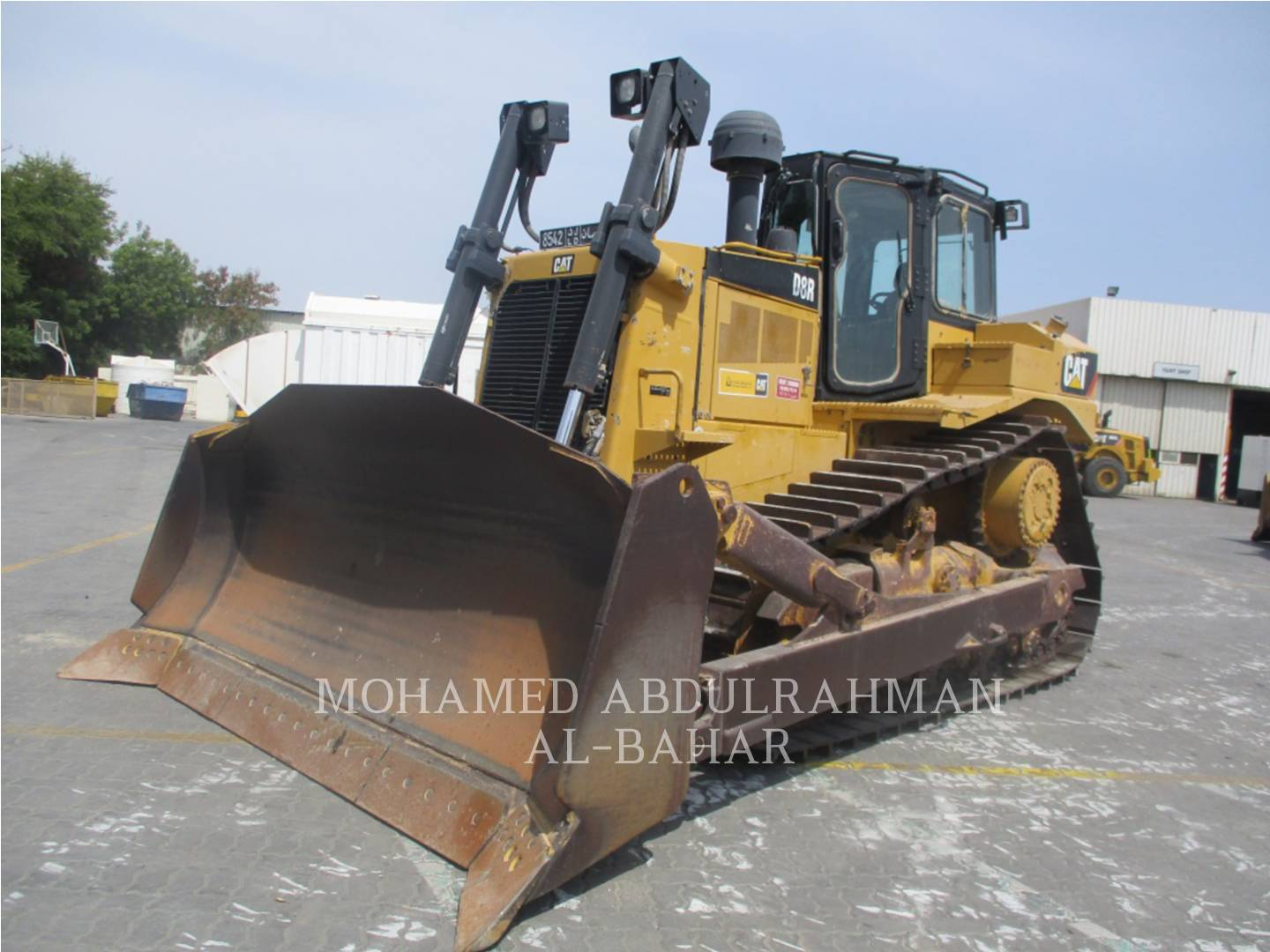 Model # D8R - skid steer loaders