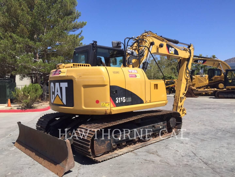 Used San Diego Track Excavators 311dlrr Hawthorne Cat