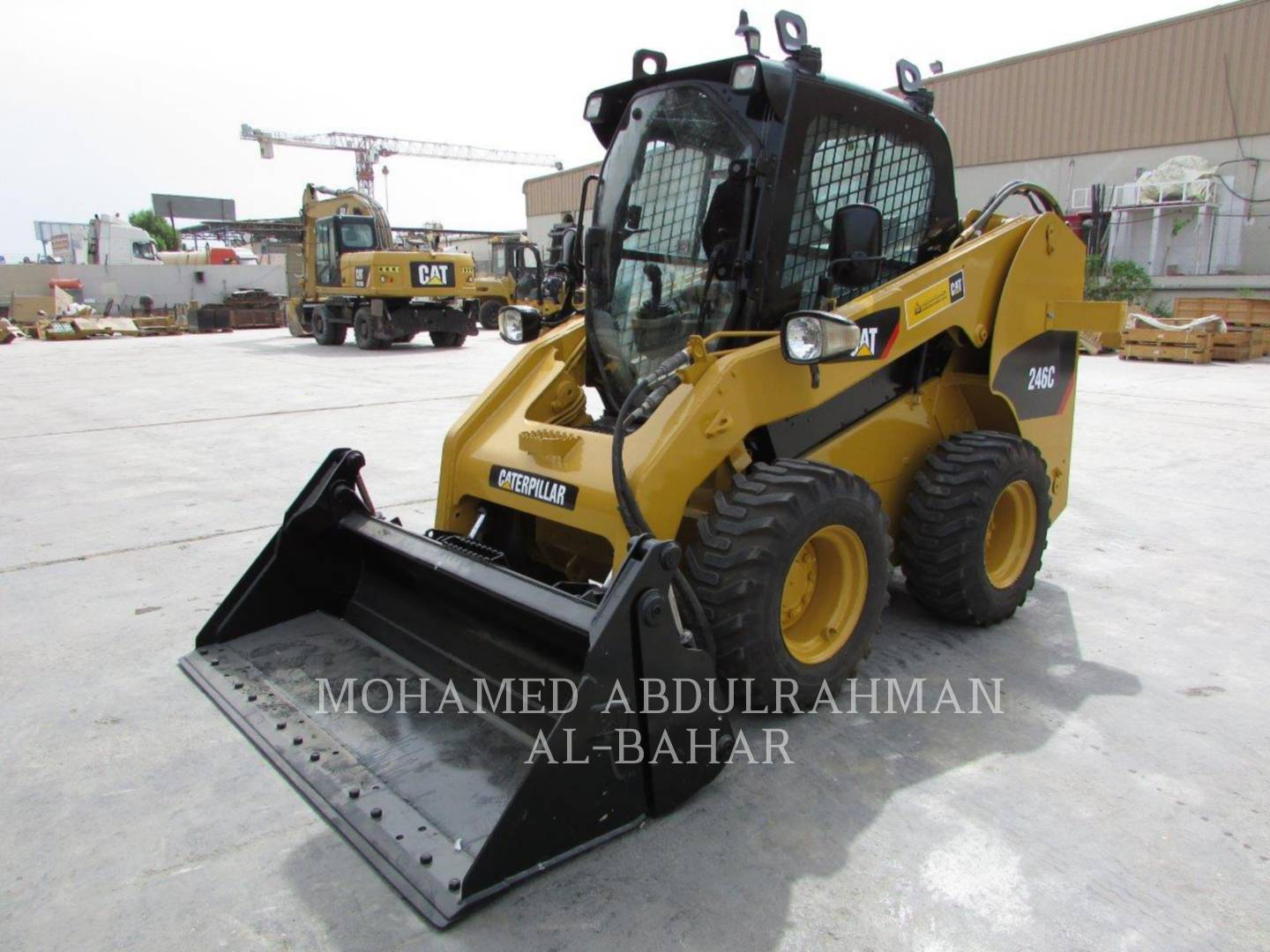 Model # 246C - skid steer loaders