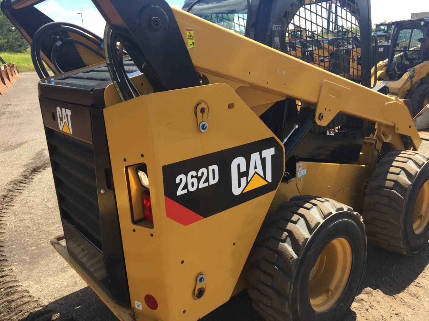 Used 2015 Caterpillar 262d For Sale New Jersey Foley Inc