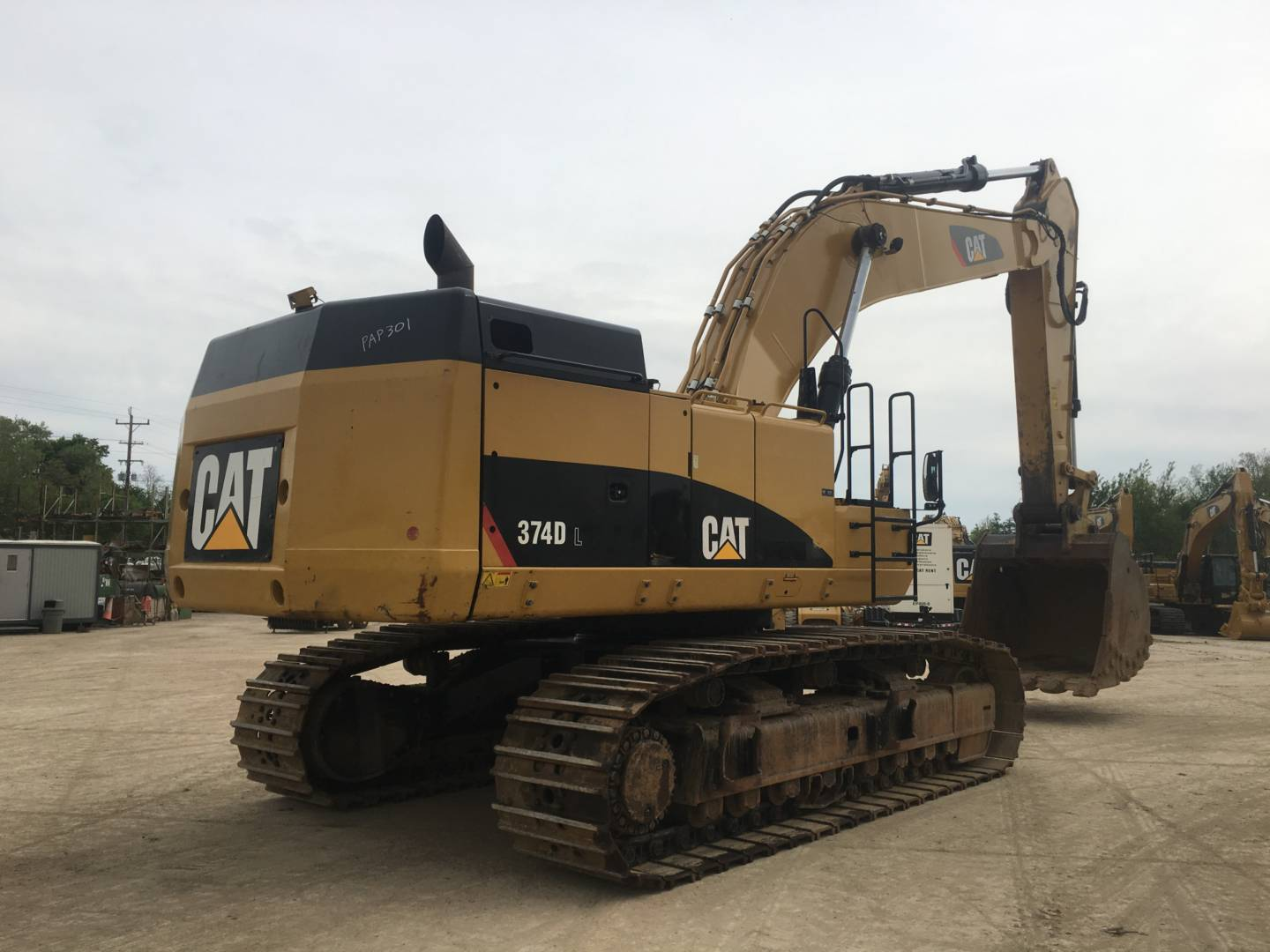 Used 2013 Caterpillar 374dl For Sale Whayne Cat