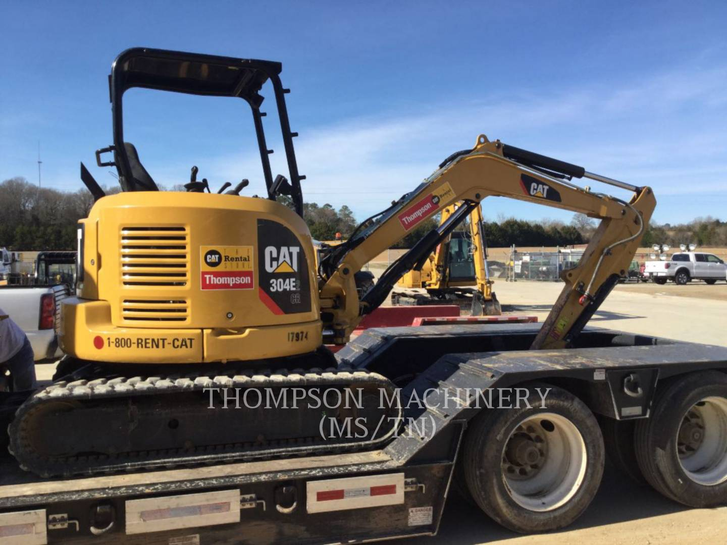 Used Large, Medium & Mini Excavators for Sale | Thompson Machinery