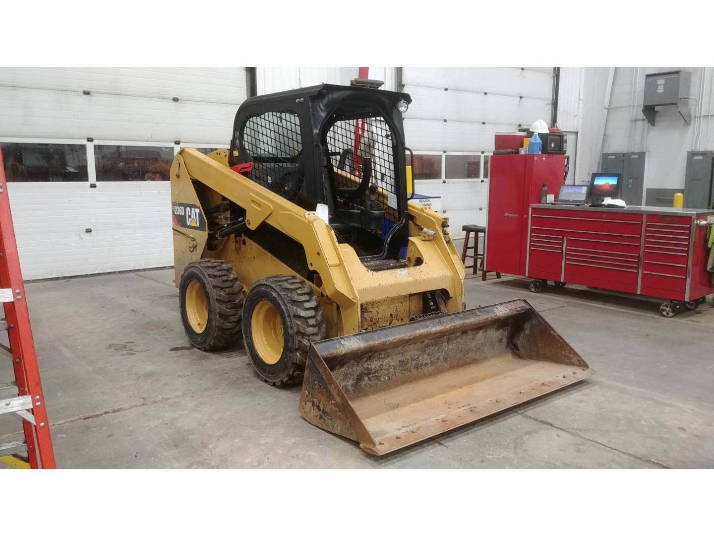 Used 2016 Caterpillar 236d For Sale