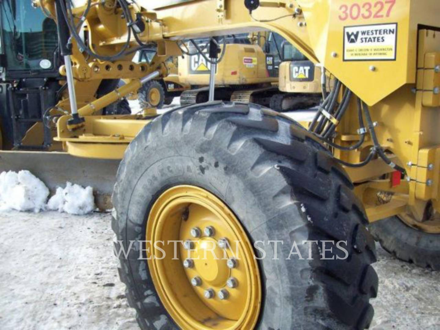 2012 CATERPILLAR 140M2 image10
