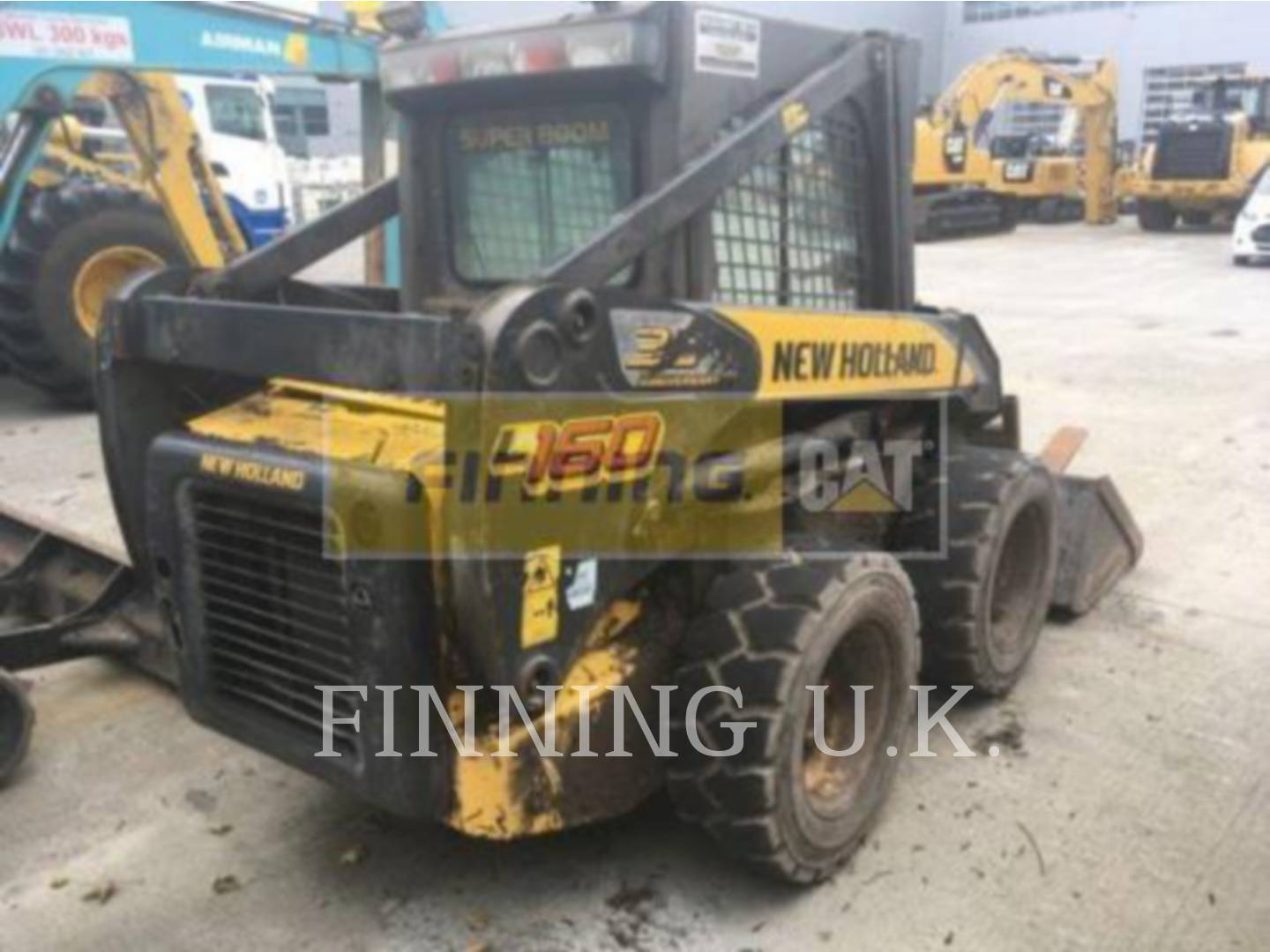 Used Skid Steer Loaders For Sale Finning Cat