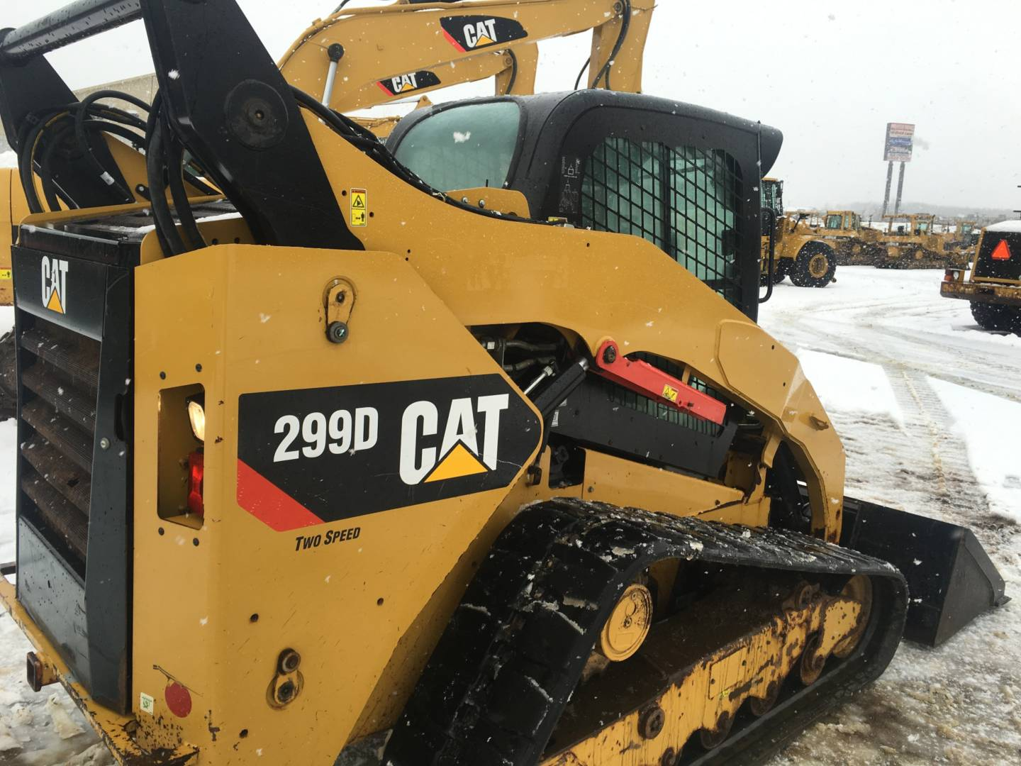 Used 2012 Caterpillar 299d For Sale Whayne Cat