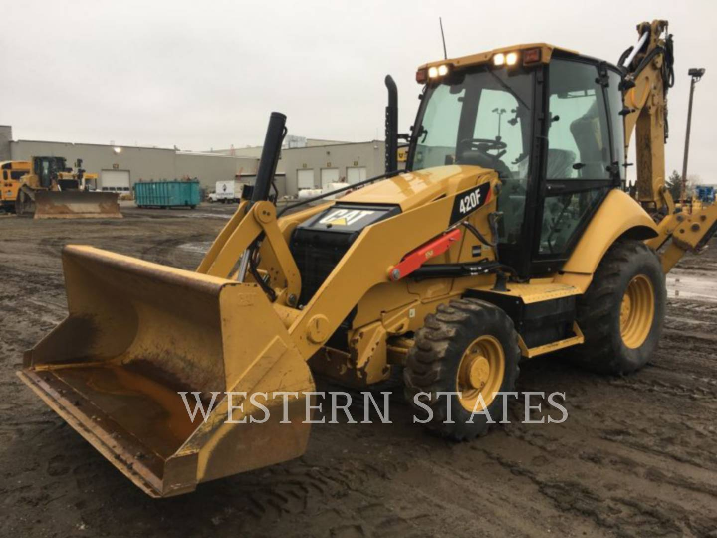 2014 CATERPILLAR 420FST image0