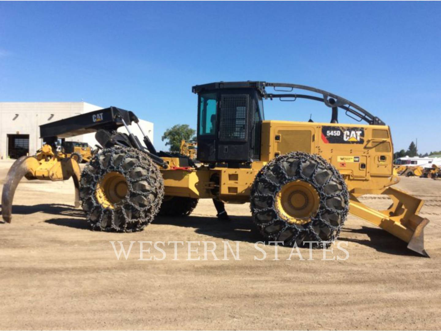 2015 CATERPILLAR 545D image10