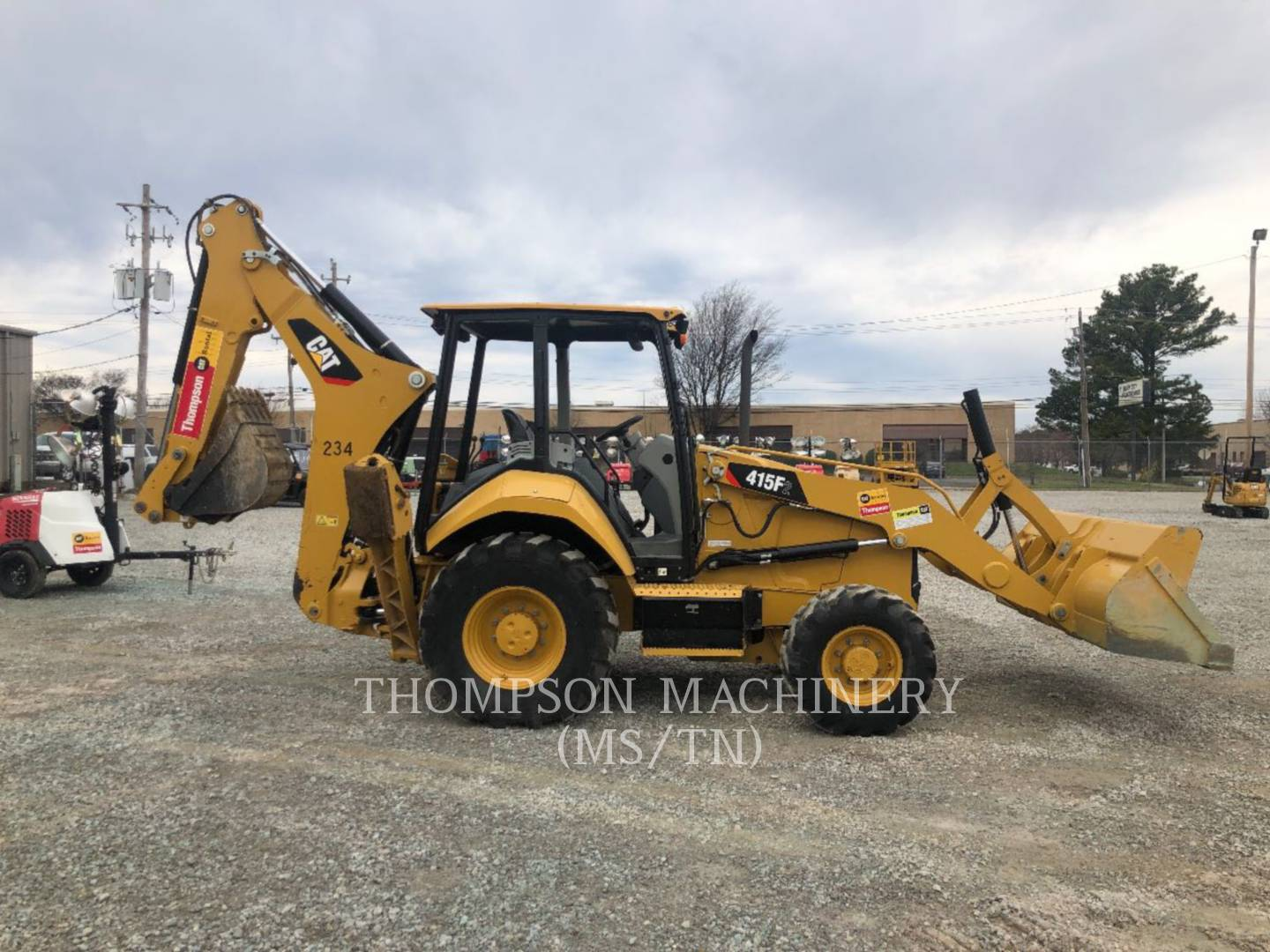 Used Backhoe Loaders | Thompson Machinery
