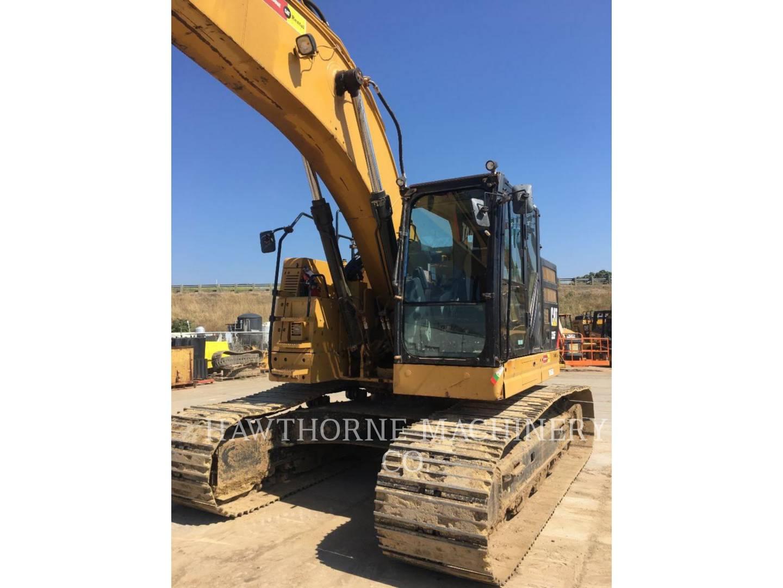 Used San Diego Track Excavators 335f Cr Th Serial